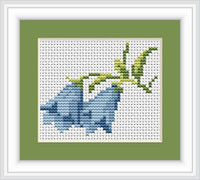 Bluebells Mini Cross Stitch Kit By Luca S