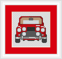 Car Mini Cross Stitch Kit By Luca S