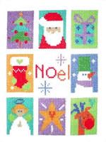Noel Sampler Cross Stitch Kit