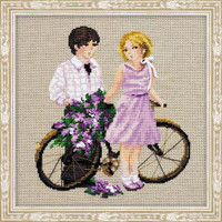 Spring Walk Cross Stitch Kit