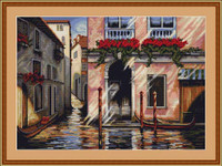 Morning In Venice Cross Stitch Kit By Luca S