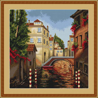 Venice Cross Stitch Kit By Luca S