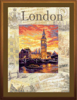 Cities Of The World, London Cross Stitch Kit