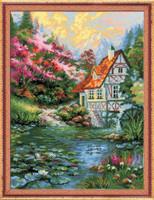 Water Mill Cross Stitch Kit By Riolis
