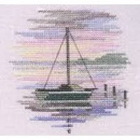 Minuets Sailing Boat Cross Stitch Kit