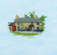 Minuets Rose Cottage Cross Stitch Kit