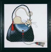 Polka Dot Purse Cross Stitch Kit By Design Works