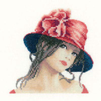 Claire In Miniature Cross Stitch Kit By Heritage