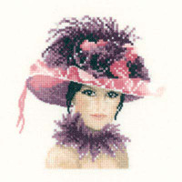 Sophia In Miniature Cross Stitch Kit By Heritage