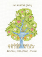 My Family Tree  Cross Stitch Kit By Dmc