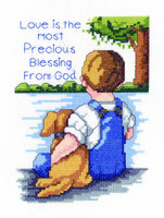 Love Is The Most Cross Stitch Kit By Janlynn