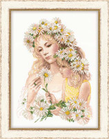 Harmony Cross Stitch Kit By Riolis