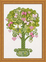 Tree Of Happiness Cross Stitch Kit