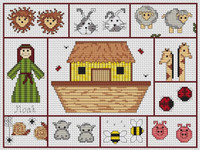 Noahs Ark Cross Stitch Kit