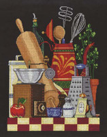 Kitchen Still Life Cross Stitch Kit By Janlynn