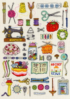 Sewing Cross Stitch Kit