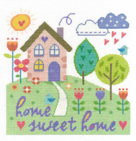 Home Sweet Home  Cross Stitch Kit By Dmc
