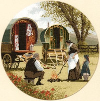 Gypsy Caravan Cross Stitch Kit
