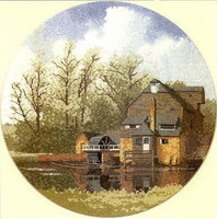 Watermill Cross Stitch Kit