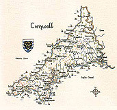 Cornwall Cross Stitch Chart By Heritage