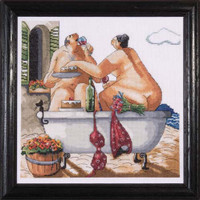 Bathing Beauties Cross Stitch Kit By Design Works