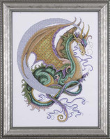 Celestial Dragon Cross Stitch Kit By Design Works