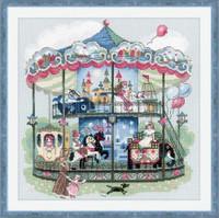 Carousel Cross Stitch Kit By Riolis