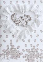 Doves Postcard Cross Stitch Kit By Luca S