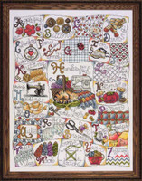 Stitching Abc Cross Stitch Kit By Design Works