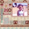 Summer Frame Cross Stitch Kit