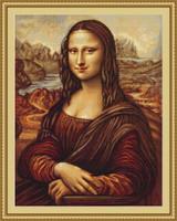 Mona Lisa Cross Stitch Kit By Luca S