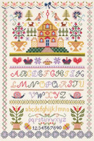 Traditional Sampler Cross Stitch Kit