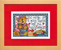 A Good Thing Cross Stitch Kit By Design Works