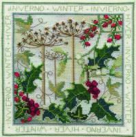 Four Seasons - Winter Cross Stitch Kit