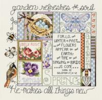 Spring Printemps Cross Stitch Kit