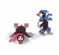 Penguin Cross Stitch Kit