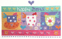 Happy Hens Cross Stitch Kit By Stitching Shed