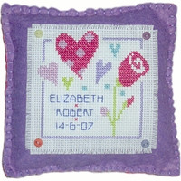Love Cushion Cross Stitch Kit