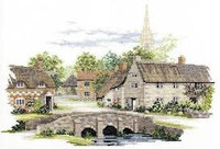Wiltshire Village Cross Stitch Kit By Derwentwater