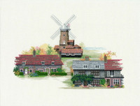 Norfolk Village Cross Stitch Kit