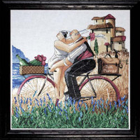 Just Married Cross Stitch Kit By Design Works