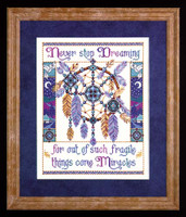 Fragile Miracles Cross Stitch Kit By Design Works
