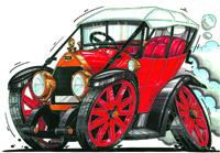 Fiat Circ 1925 Cross Stitch Chart