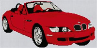 Bmw Z3 Cross Stitch Chart