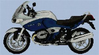 Bmw R1100St 2006 Motorcycle Cross Stitch Chart