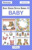 Baby Cross Stitch Kit Book By Dmc