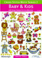 Baby And Kids Cross Stitch Motif Book