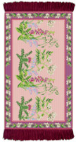 Wild Flowers Rug/Wall Hanging Cross Stitch Kit