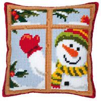 Snowman Chunky Cross Stitch Kit