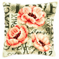 Rose Text 2 Chunky Cross Stitch Kit